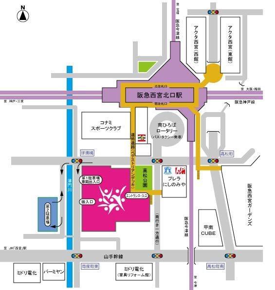 兵庫県立芸術文化センターへのアクセス