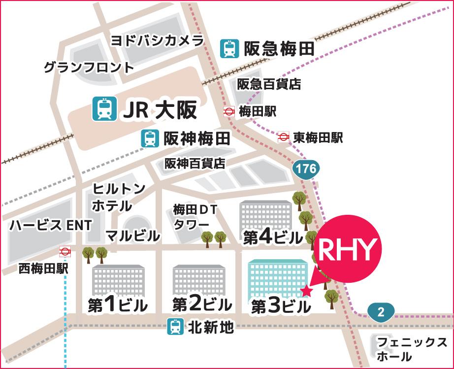 大阪梅田センター アクセス